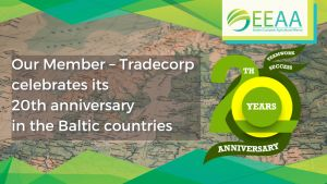 Tradecorp celebrates its 20th anniversary in the Baltic countries